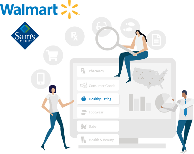 Walmart and Sam's Club